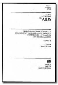 World Health Organization : Year 1994 ; ... by G. M. Gershy-Damet