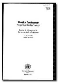 World Health Organization : Year 1994 ; ... by Goran Dahlgren