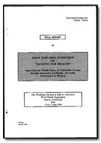 World Health Organization : Year 1994 ; ... by Aleya El Bindari Bamrnad