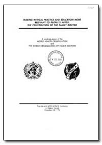 World Health Organization : Year 1995 ; ... by Charles Boelen, Dr.