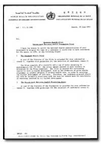World Health Organization : Year 1995 ; ... by Sasakawa Health