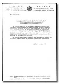 World Health Organization : Year 1995 ; ... by World Health Organization