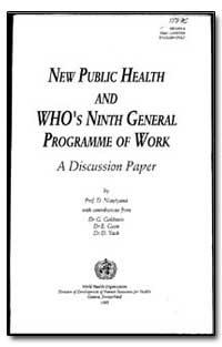 World Health Organization : Year 1995 ; ... by D. Ncnyiyana