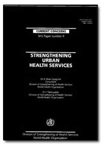 World Health Organization : Year 1995 ; ... by A. Rossi-Espagnet, Dr.