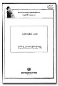 World Health Organization : Year 1996 ; ... by T. Turmen, Dr.