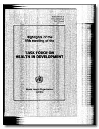 World Health Organization : Year 1996 ; ... by Y. Kawaguchi, Dr.