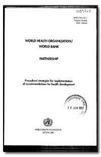 World Health Organization : Year 1996 ; ... by Yuji Kawaguchi, Dr.