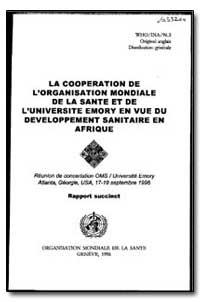 World Health Organization : Year 1996 ; ... by Silberman, Dr.
