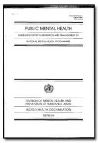 World Health Organization : Year 1996 ; ... by J. M. Bertolote