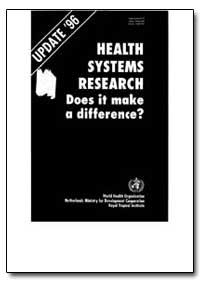 World Health Organization : Year 1997 ; ... by Corlien M. Varkeviser, Dr.