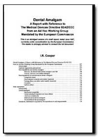World Health Organization : Year 1997 ; ... by I. R. Cooper