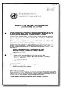 World Health Organization : Year 1997 ; ... by M. Schrnid