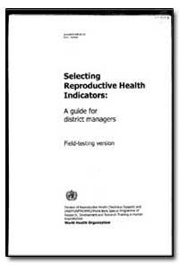World Health Organization : Year 1997 ; ... by Wendy Graham, Dr.