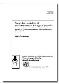 World Health Organization : Year 1997 ; ... by Gillian Chaloner-Larsson