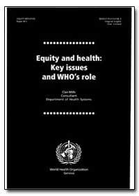 World Health Organization : Year 1998 ; ... by Clair Mills