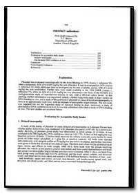 World Health Organization : Year 1999 ; ... by T. C. Marrs