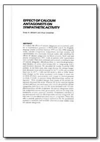 World Health Organization : Year 1999 ; ... by Franz H. Messerli