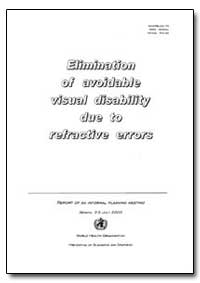 World Health Organization : Year 2000 ; ... by Derek Yach, Dr.