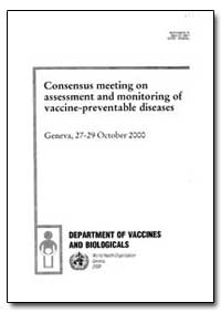 World Health Organization : Year 2000 ; ... by Merceline Dahl-Regis