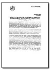World Health Organization : Year 2001 ; ... by M. Gregory Hartl