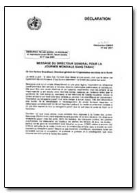 World Health Organization : Year 2001 ; ... by Gro Harlem Brundtland, Dr.