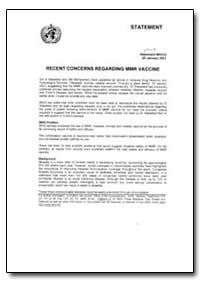 World Health Organization : Year 2001 ; ... by Gregory Hartl