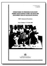World Health Organization : Year 2001 ; ... by M. S. Moutswi