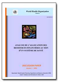World Health Organization : Year 2002 ; ... by Jean Perrot