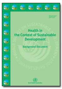 World Health Organization : Year 2002 ; ... by Yasmin Von Schirnding, Dr.