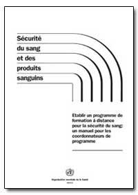 World Health Organization : Year 2003 ; ... by Jean C. Emmanuel, Dr.