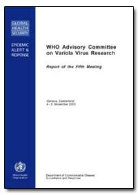 World Health Organization : Year 2004 ; ... by World Health Organization