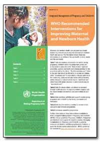 World Health Organization : Year 2007 ; ... by World Health Organization
