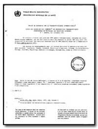 World Health Organization : Report on a ... by World Health Organization