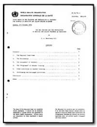 World Health Organization : Report on a ... by D. A. Messinezy, Dr.