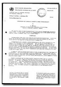 World Health Organization : Report on a ... by P. Dancescu