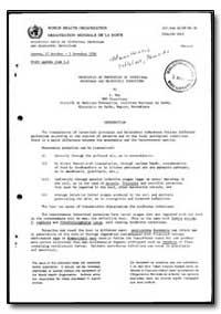 World Health Organization : Report on a ... by L. Rey