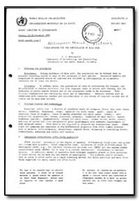World Health Organization : Report on a ... by C. J. Marinkelle
