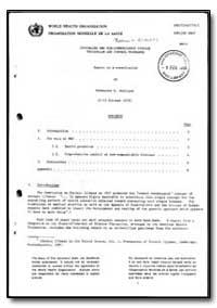 World Health Organization : Report on a ... by K. Westlund