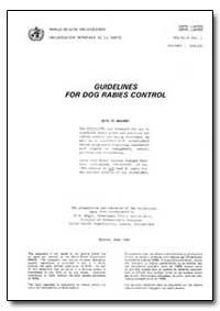 World Health Organization : Report on a ... by K. Bogel, Dr.