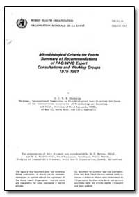 World Health Organization : Report on a ... by J. H. B. Christian, Dr.