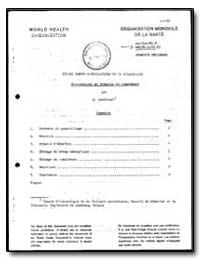 World Health Organization : Report on a ... by R. Pauyrizel