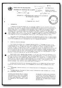 World Health Organization : Report on a ... by J. Vaugeladel
