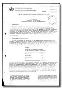 World Health Organization : Report on a ... by Sharm Prank, Dr.