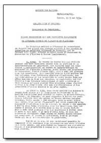 Health Organisation, Malaria Comission; ... by S. P. James