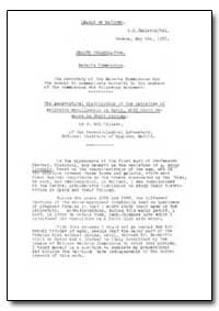 Health Organisation, Malaria Comission; ... by J. Gil Collado