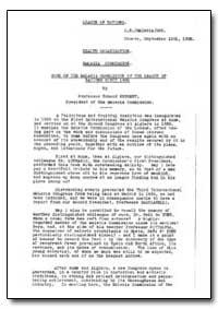 Health Organisation, Malaria Comission; ... by Edmond Sergent