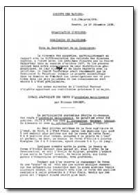 Health Organisation, Malaria Comission; ... by World Health Organization