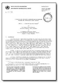 Health Organisation, Malaria Comission; ... by C. Romanescu