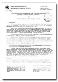 Health Organisation, Malaria Comission; ... by P. Arnbroise-Thomas
