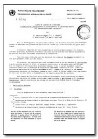Health Organisation, Malaria Comission; ... by P. Mbroise Homas